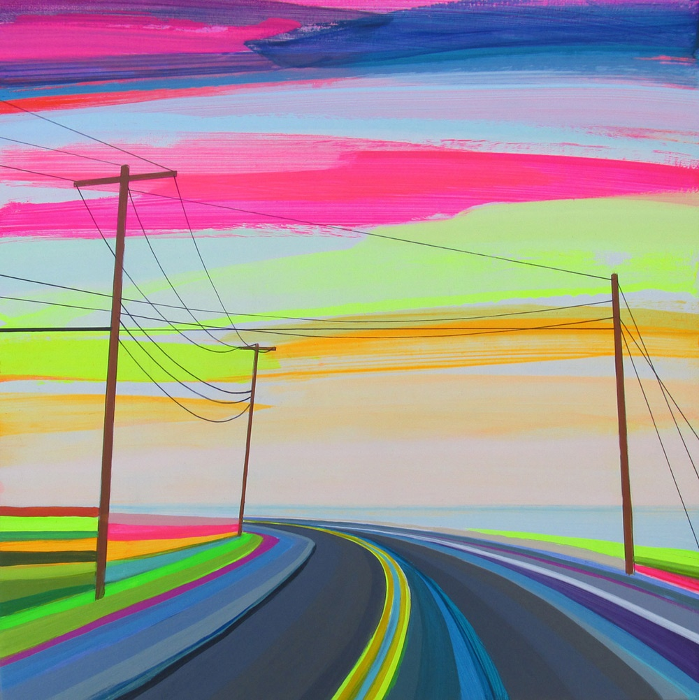 Dreamlike Landscapes by Grant Haffner | Art Ctrl Del To give examples of the artists work